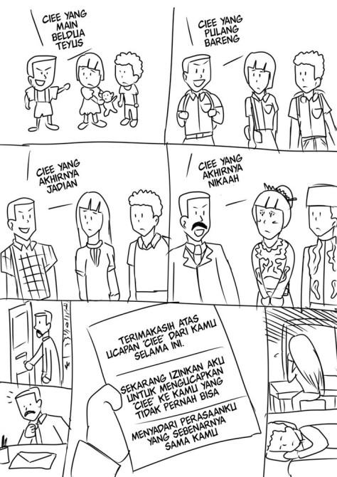 Kisah sedih akibat kata cie (Sumber: Kaskus)